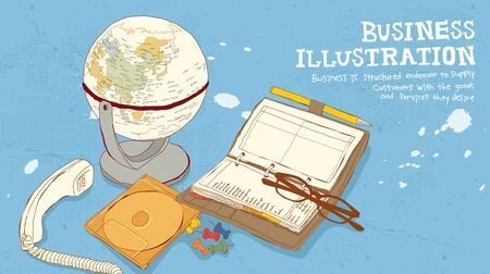 Business Illustration Stock Photo
