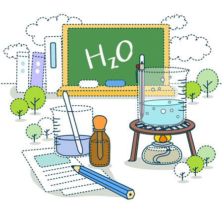 Science Education Illustration