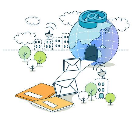 Information Society Illustration