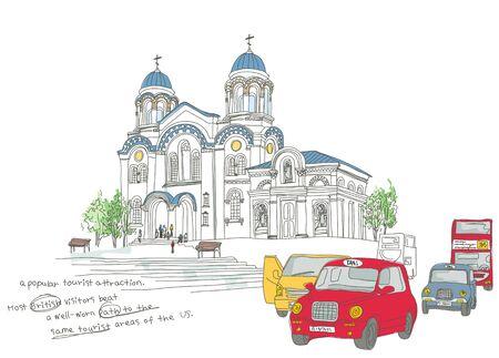 Traveling Illustration