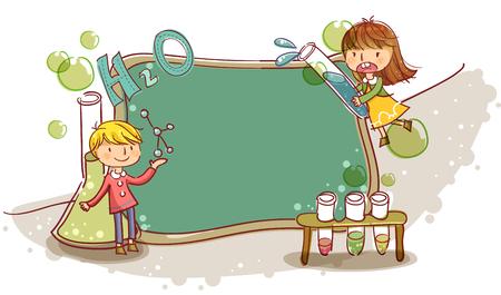 Education, School Life, Science Illustration