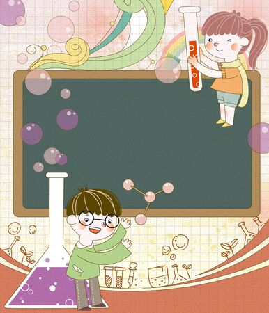 examiner: A Class Of Science Exploration Illustration