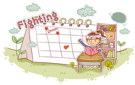 convivencia escolar: Education, School Life, Studying Illustration