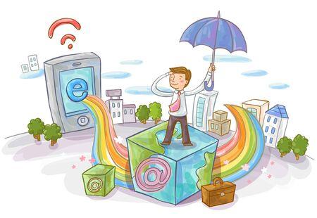 Information?Society Illustration