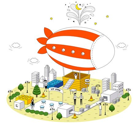 Imagination City Illustration