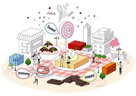 mellowness: Imagination City Illustration