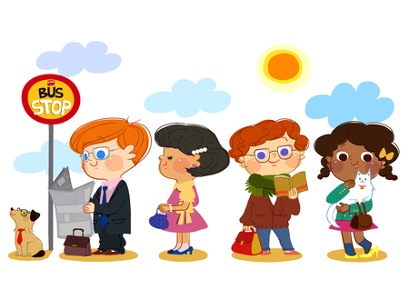 Children Themed Illustration Stock Photo