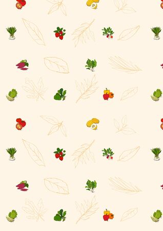 pimento: Gift Wrapping Paper Design Illustration