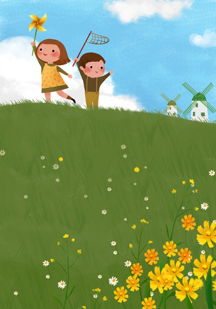 Childrens World Illustration