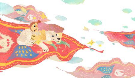 Love And Compassion Illustration