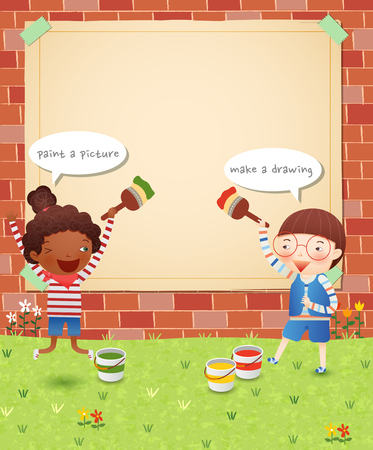 hurray: Childrens Fun Time Illustration