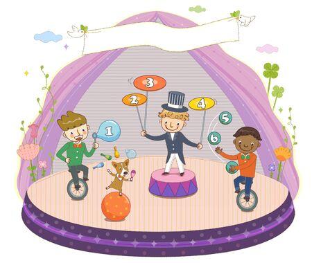 Childrens Education Illustration