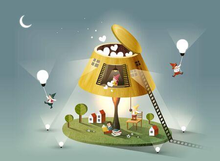 Imagination Story Illustration