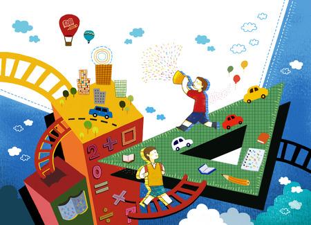 Imaginative Life Illustration