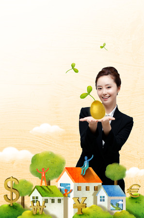 Business Themed Photo Illustration