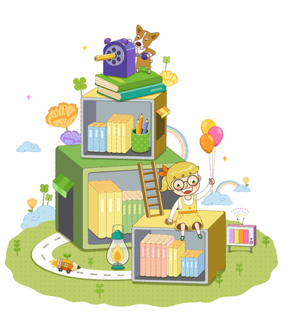 Childrens Education Illustration