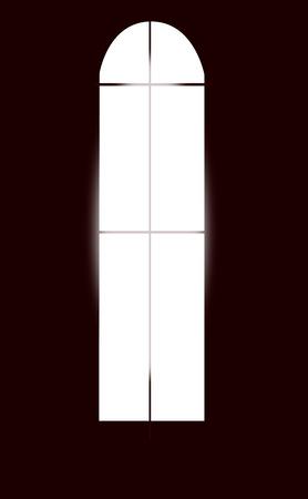 Light through the window Stock Vector - 73018245