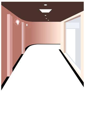 Corridor Illustration