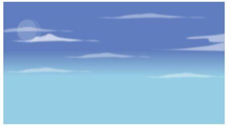 moody: Blue sky