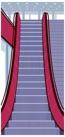 escalator: Escalator Illustration