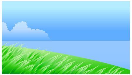 horizon over water: Water landscape