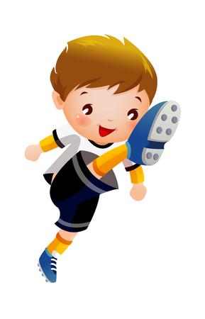 Soccer player Illustration