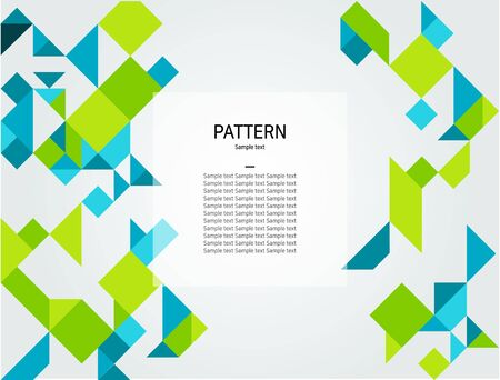 pattern: Vector-Abstract geometric pattern background