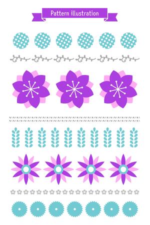 Seasonal patterns-Flowers