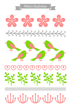 Seasonal patterns-Spring Stock Vector - 73169867