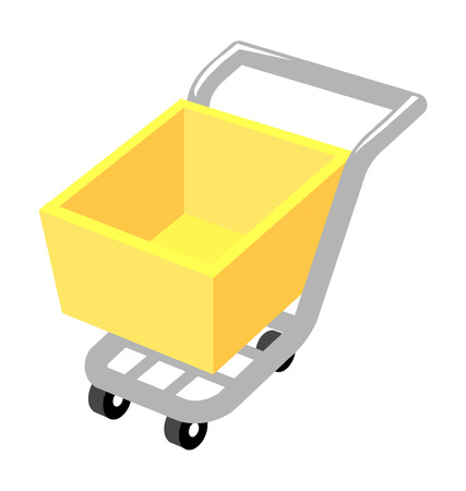 cart: Vector icon cart Illustration