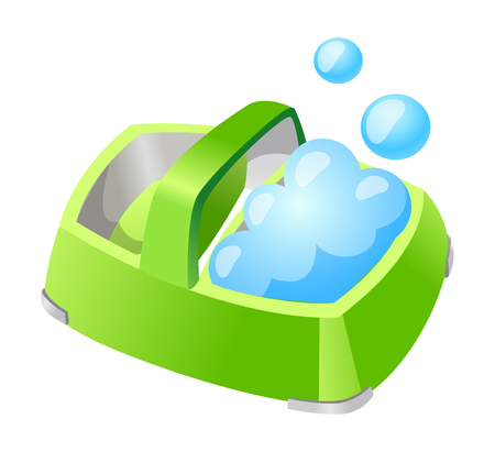 Vector icon soap case