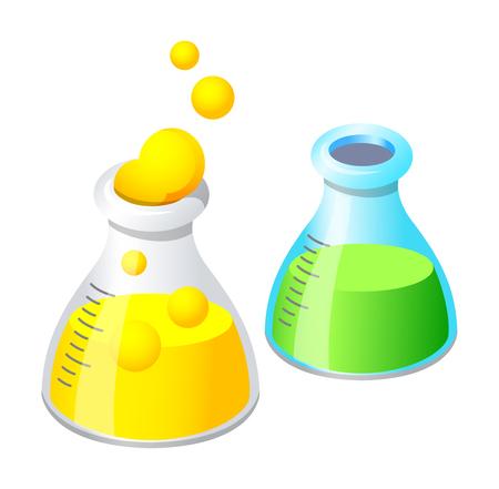 Vector icon lab equipment