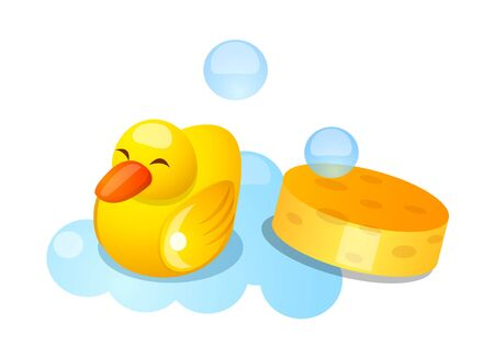 Icon of a duck rubber.
