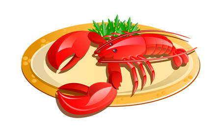 do cooking: vector icon lobster