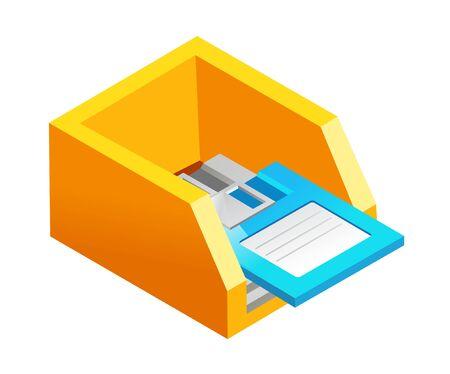 vector icon floppy disk