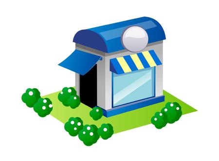 vector icon shop Illustration