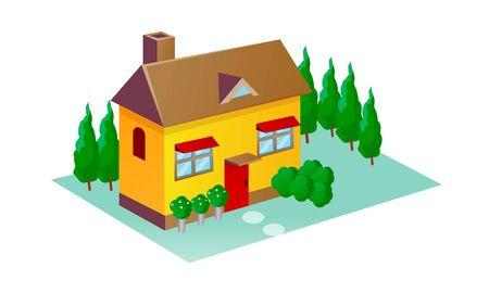 chimney pot: vector icon house