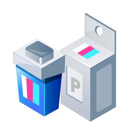 vector icon printer ink 向量圖像