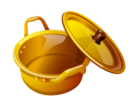 do cooking: vector icon pot Illustration