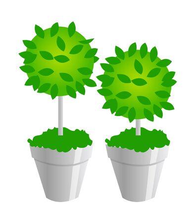 Vector icon plants