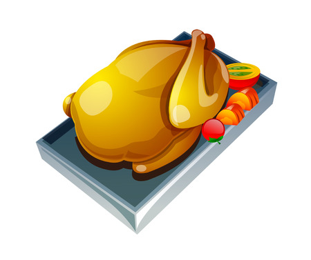 do cooking: vector icon chicken