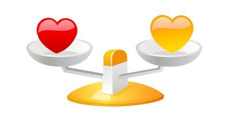 vector icon balance Illustration