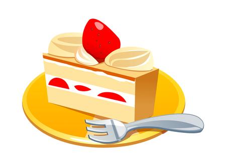 벡터 아이콘 케이크