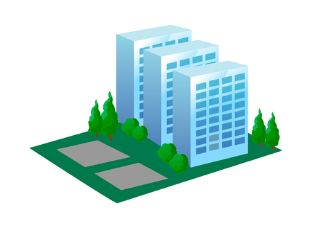 vector icon apartment Illustration