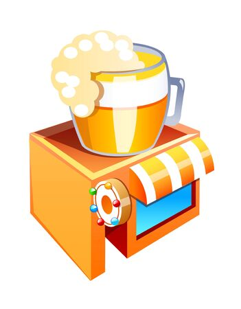 vector icon beer bar