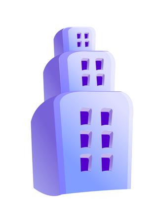 tier: Icon 3-tier building