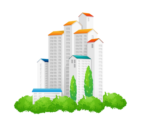 icon building Illustration