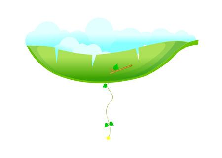 a bough: Icon leaf