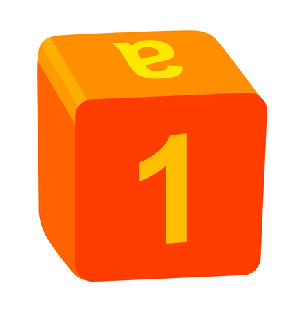 numbers clipart: icon box Illustration
