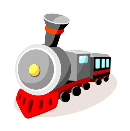 icon train Иллюстрация